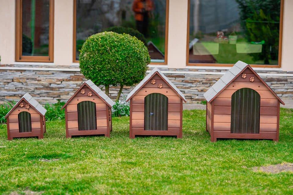 Къщи за кучета - Като в Приказките - Кафеви