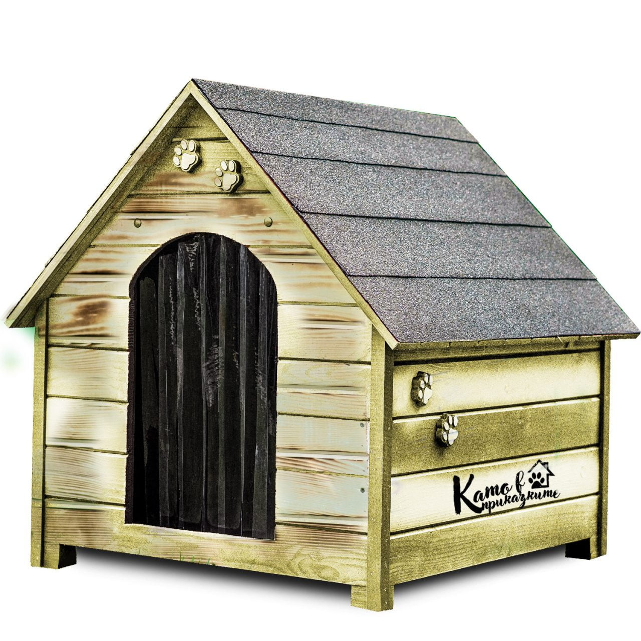 Къща за кучета - Ретро - Като в Приказките