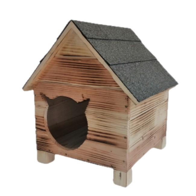 Къща за коте-Ретро